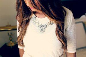 Accessoires, Style, Jeune Fille, Glamour